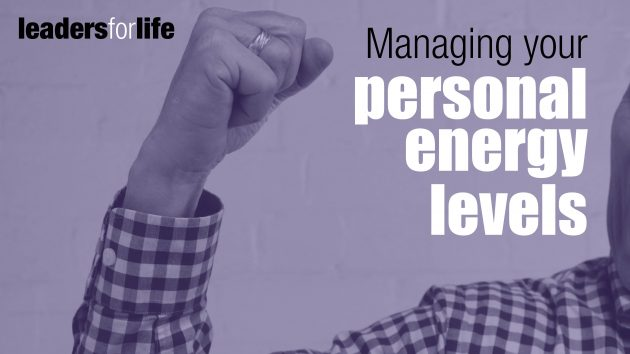 Personal Energy Levels | Leadership Development Sydney | the human enterprise