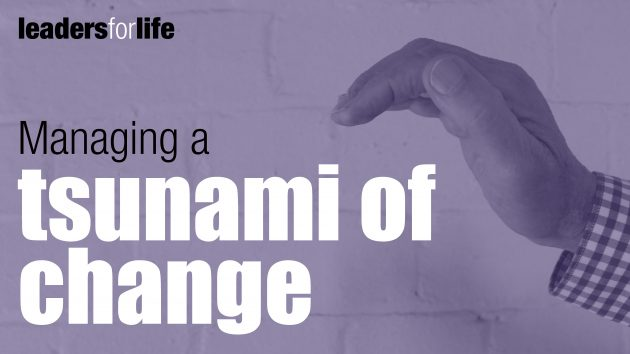Managing a Tsunami of Change | Organisational Development Sydney
