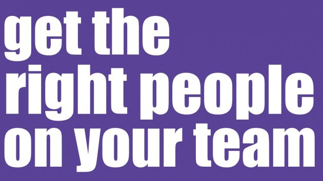 Get the Right People on Your Team | Leadership Training Sydney