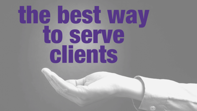 The Best Way to Serve Clients | Leadership Coaching Australia