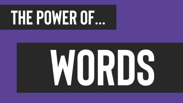 The Power of Words   Leadership Training Sydney