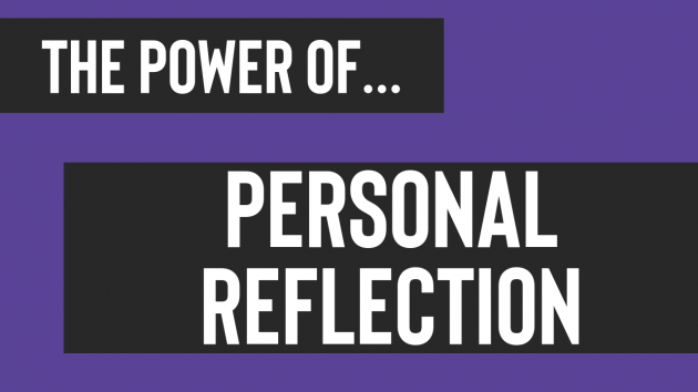 The Power of Personal Reflection | Leadership Training Sydney