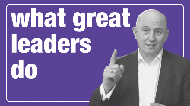What Great Leaders Do | Leadership Training Sydney | the human enterprise