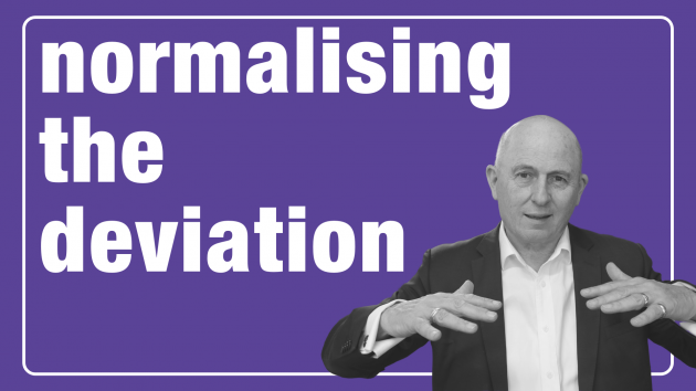 Normalising the Deviation | Leadership Coaching Sydney | the human enterprise