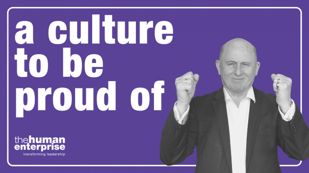 A culture to be proud of | Leadership Training Sydney | the human enterprise