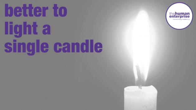 Light A Candle | Leadership Skills Sydney | the human enterprise